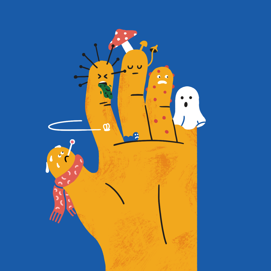 Tidy hands